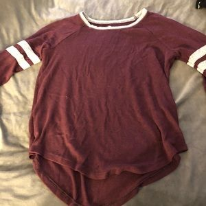 Sweaters - Red long sleeve